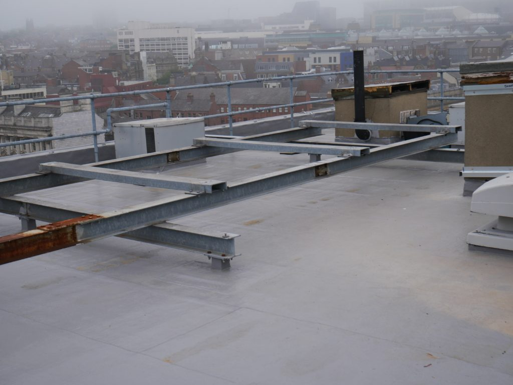 Roof Coating Overlay Case Study Ihp Bridge House
